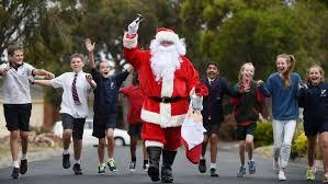 Santa for front liner global citizen future